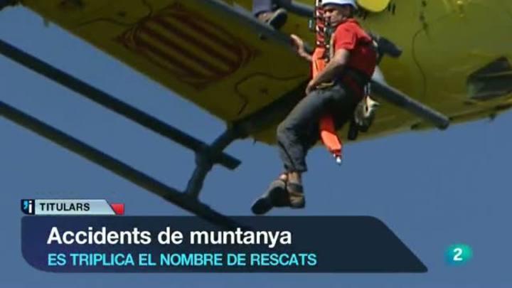 L'informatiu vespre - 9/08/2012