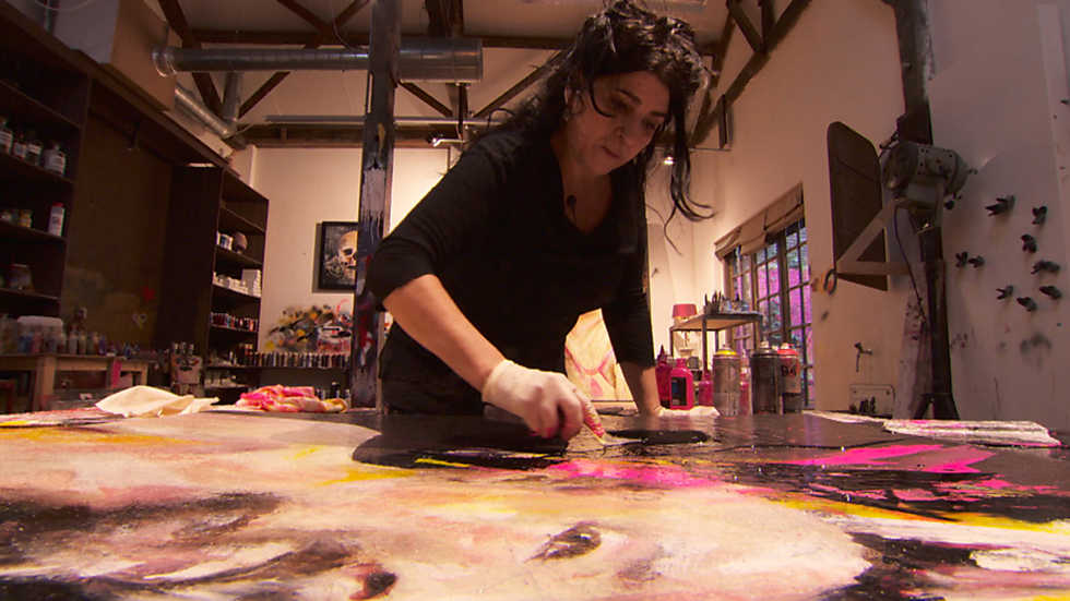 Crónicas - Lita Cabellut: el lenguaje de los colores