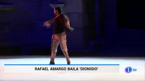 Ir al VideoLlega 'Dionisio' a Mérida, con el que Amargo fusiona flamenco, ballet y danza