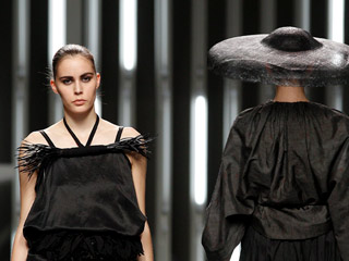 Lluis Corujo en Madrid Cibeles Fashion Week