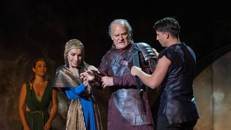 Lluis Homar en el Teatro Romano de Mérida
