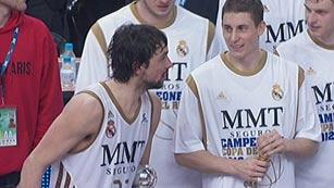Llull y Carroll, los mejores del Madrid