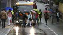 Video: La lluvia caída en Madrid complica los desplazamientos y provoca inundaciones