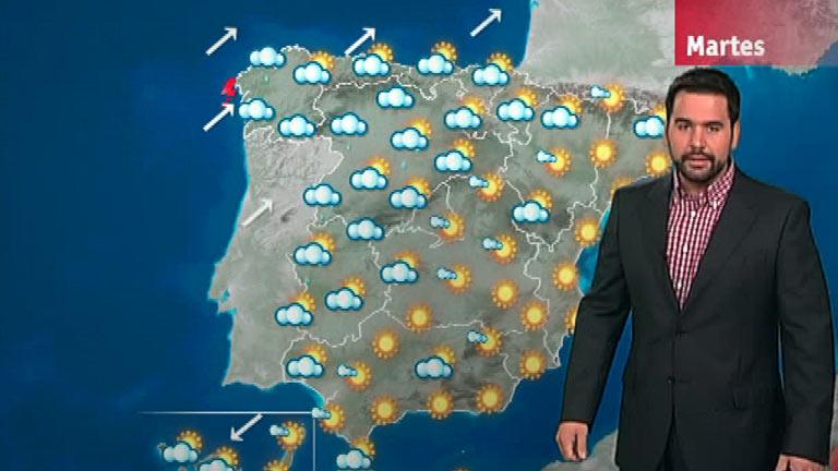 Lluvias en Galicia, Asturias, Castilla y León y Extremadura
