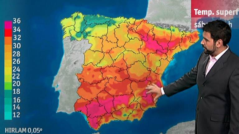 Lluvias débiles en Galicia y el Cantábrico