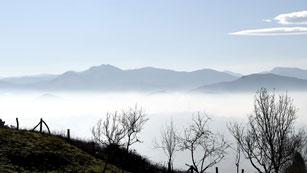 Lluvias en Galicia y Pirineos y nubes en el norte