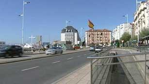 Ascenso de las temperaturas en el este y lluvias en Galicia