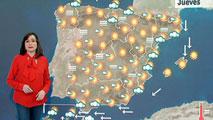 Lluvias localmente fuertes en el sur de Canarias y temperaturas sin cambios