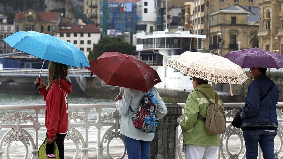 Lluvias en la mitad norte peninsular, menos probables cuanto más al sureste