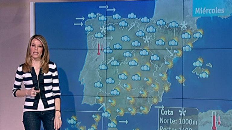 Lluvias en el noroeste y viento moderado a fuerte en Canarias y Alborán