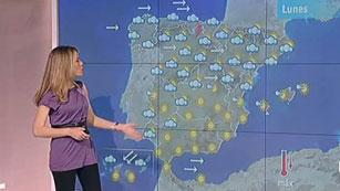 Lluvias en el norte y temperaturas más suaves