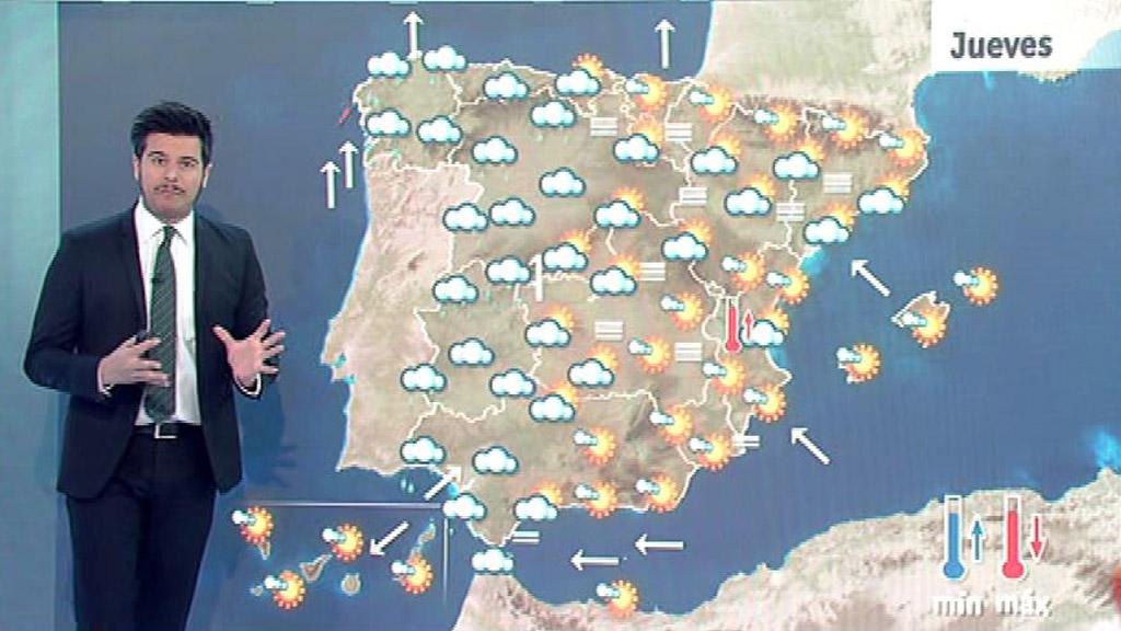 Lluvias en el oeste peninsular y aumento de la inestabilidad