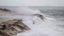 Lluvias en el tercio sur peninsular y rachas de viento muy fuerte