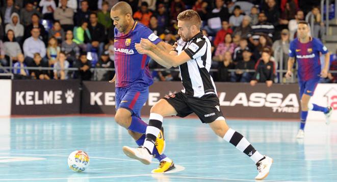 LNFS. Jornada 11. Barcelona Lassa 4-0 Levante UD. Resumen
