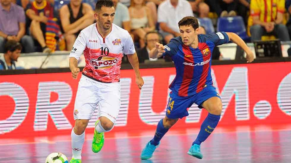 LNFS. Playoff semifinales. FC Barcelona Lassa 5-1 ElPozo Murcia. Resumen