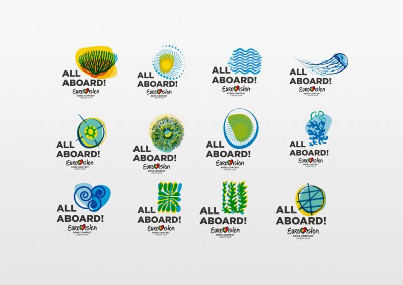 Logos de Eurovisión 2018