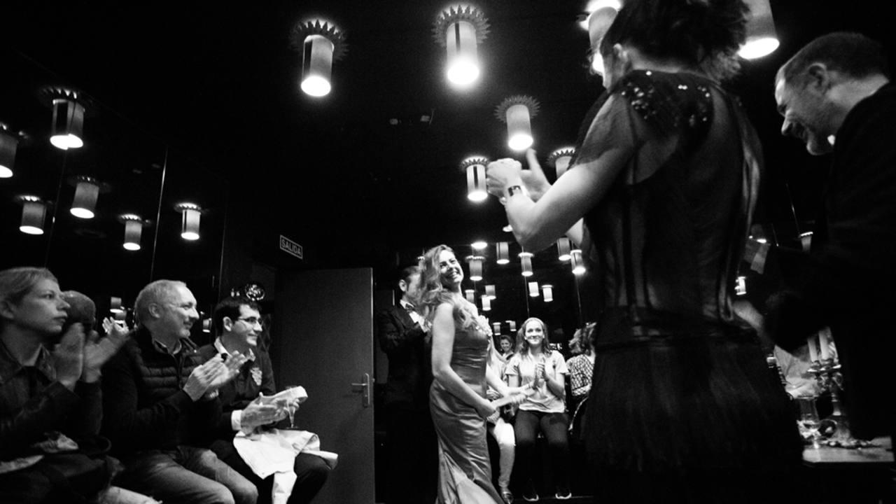 Lola Baldrich baila en una escena de 'Addio del passato' de Juan Bravo