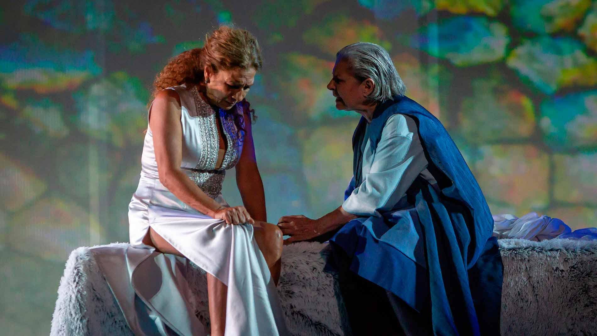 Ir al VideoLolita es 'Fedra' en el Teatro Romano de Mérida