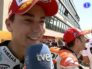 """Ver vídeo  'Lorenzo: """"He corrido con el corazón""""'"""