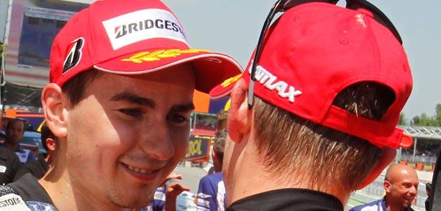 Lorenzo y Stoner lucharán por el liderato de MotoGP en Silverstone