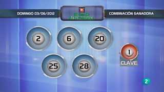 Lotería diaria - 03/06/12