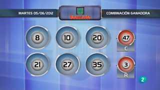 Lotería diaria - 05/06/12