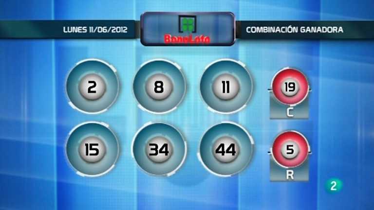 Lotería diaria - 11/06/12