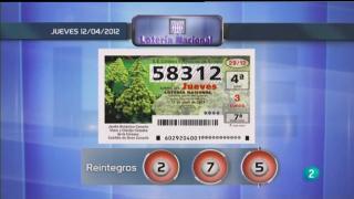 Lotería diaria  - 12/04/12