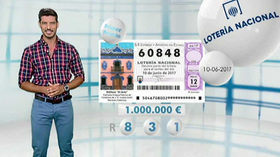 Lotería Nacional - 10/06/17