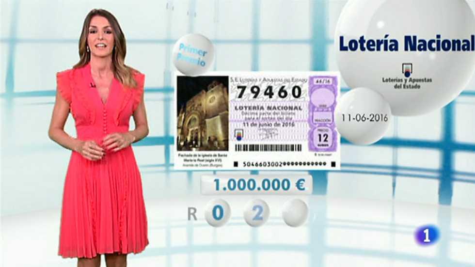 Lotería Nacional - 11/06/16