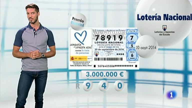 loteria nacional 20 noviembre: