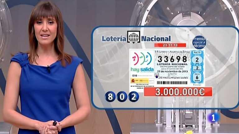 Lotería Nacional - 23/11/13