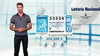 Lotería Nacional - 25/06/16