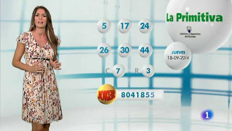 Lotería Nacional + Primitiva - 18/09/14