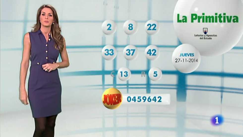 Lotería Nacional + La Primitiva - 27/11/14