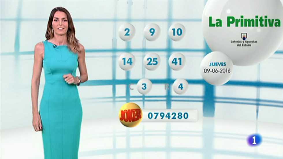 Lotería Nacional + La Primitiva + Bonoloto - 09/06/16