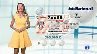 Lotería Nacional + La Primitiva + Bonoloto - 25/08/16