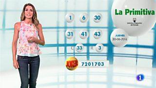 Lotería Nacional + La Primitiva + Bonoloto - 30/06/16