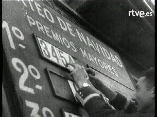 Ver vídeo  'La lotería navideña de hace 60 años'