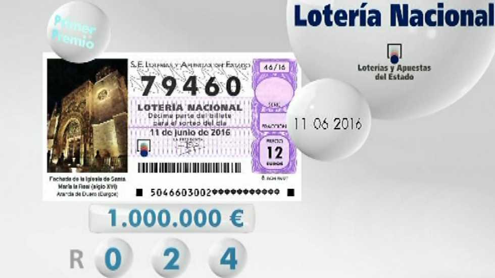 Lotería viajera - 11/06/16