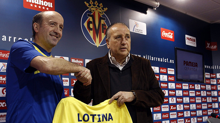 Lotina se convierte en el tercer técnico del Villarreal