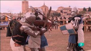 La Aventura del Saber. Lucha medieval. Castillo de Belmonte en Cuenca