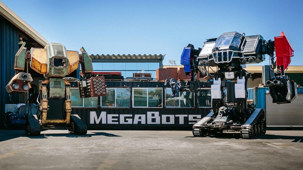 Lucha de robots gigantes