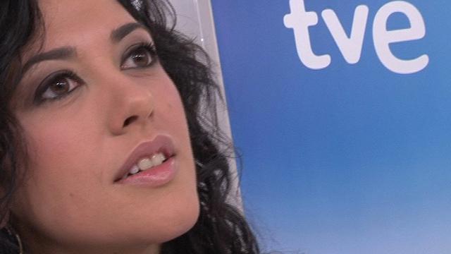 """Lucía Pérez, representante de TVE en Eurovisión 2011: """"Estoy encantada, la canción cada vez me gusta más, es muy positiva"""""""