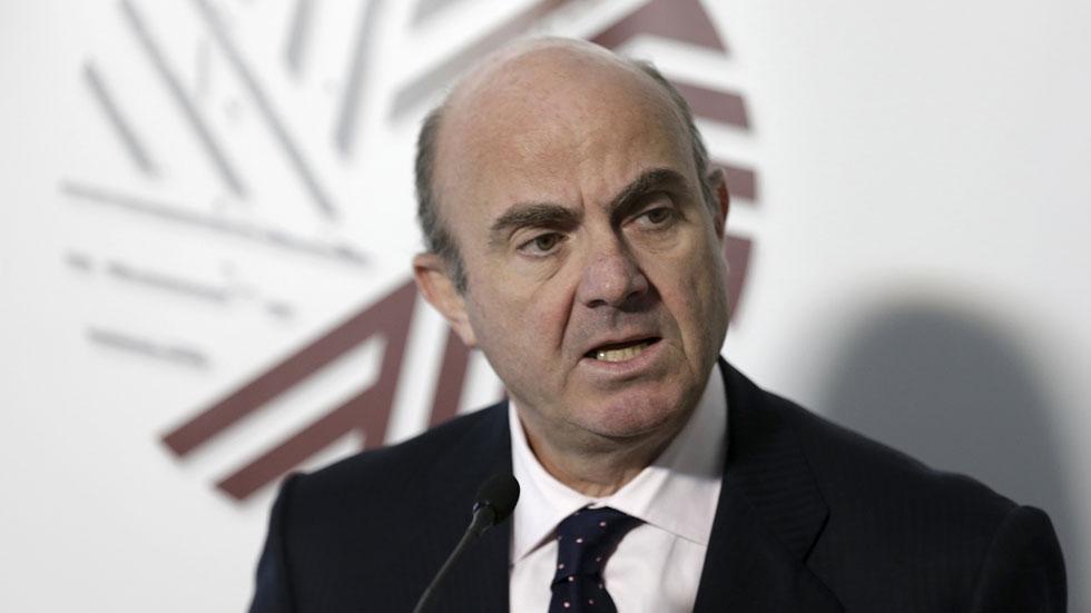 Luis de Guindos asegura contar con apoyos para ser el próximo presidente del Eurogrupo