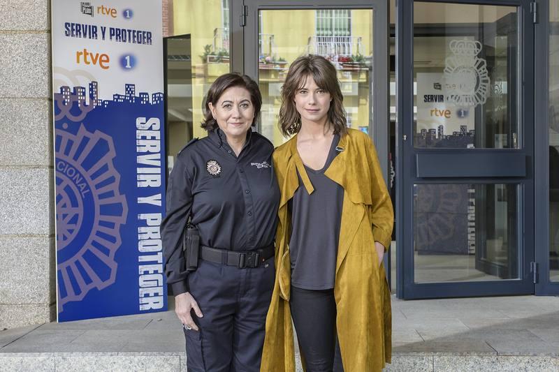 Luisa Martín y Andrea del Río, protagonistas de Servir y proteger