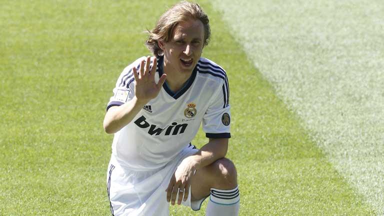Luka Modric ficha por el Real Madrid