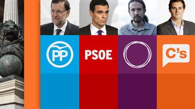 El lunes, debate a cuatro, en TVE