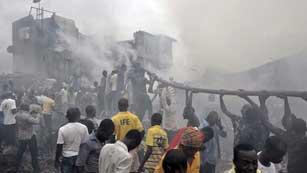 Luto en Nigeria por un accidente de avión sin supervivientes