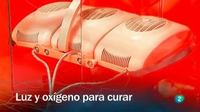 Redes - Luz oxígeno para curar